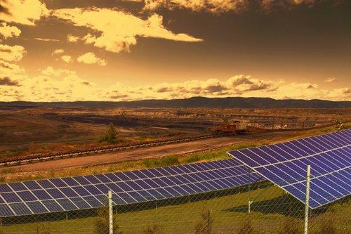 Solar Panels in Coal Mines