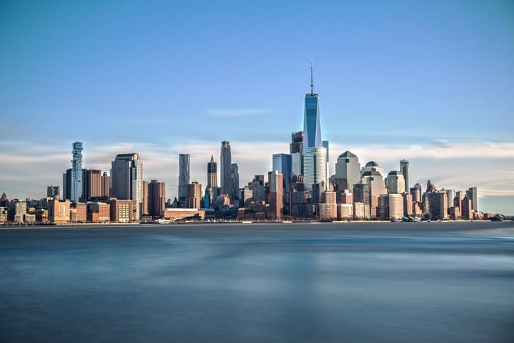 Skyline of Manhattan