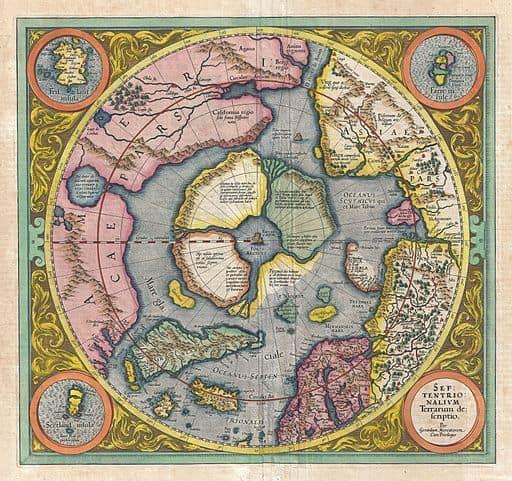 Rupes Nigra Magnetic North Pole