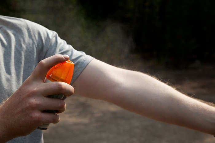 Preventing Mosquito Borne Diseases Bug Spray