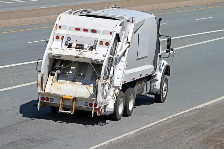 External Hopper Truck Garbage History