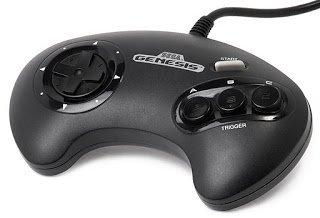 Sega Genesis Video Game Controller Design