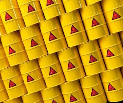 Nuclear Waste Barrels