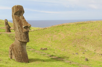 Easter Island Statue Head Body
