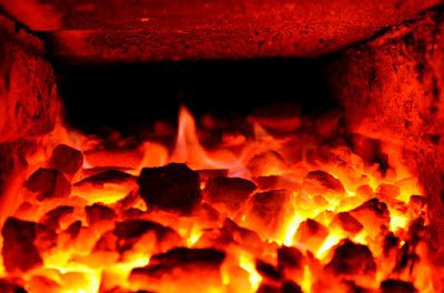 Burning coke regulated by ASTM D121-15
