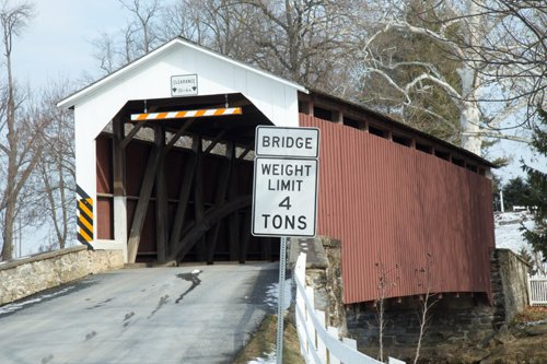 Zook's Mill Covered Bridge Lancaster County
