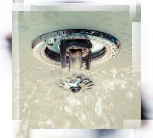 Sprinkler system that meets NFPA safety standards