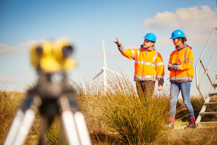 Suited up in HVSA, workers from OSHA explore wind farm and note top 10 violations related to fall protection.