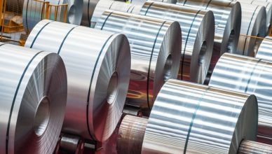 Aluminum rolls in series with dimensional tolerances to the ANSI H35.2-2017 standard