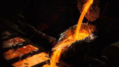Aluminum Industry Energy Molten