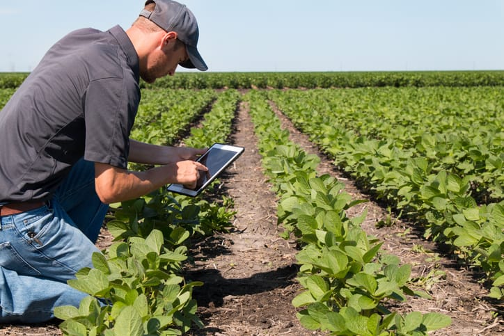 Farmer utilizing both ISO 45001 and ISO 14001 to implement environmental and occupational health and safety
