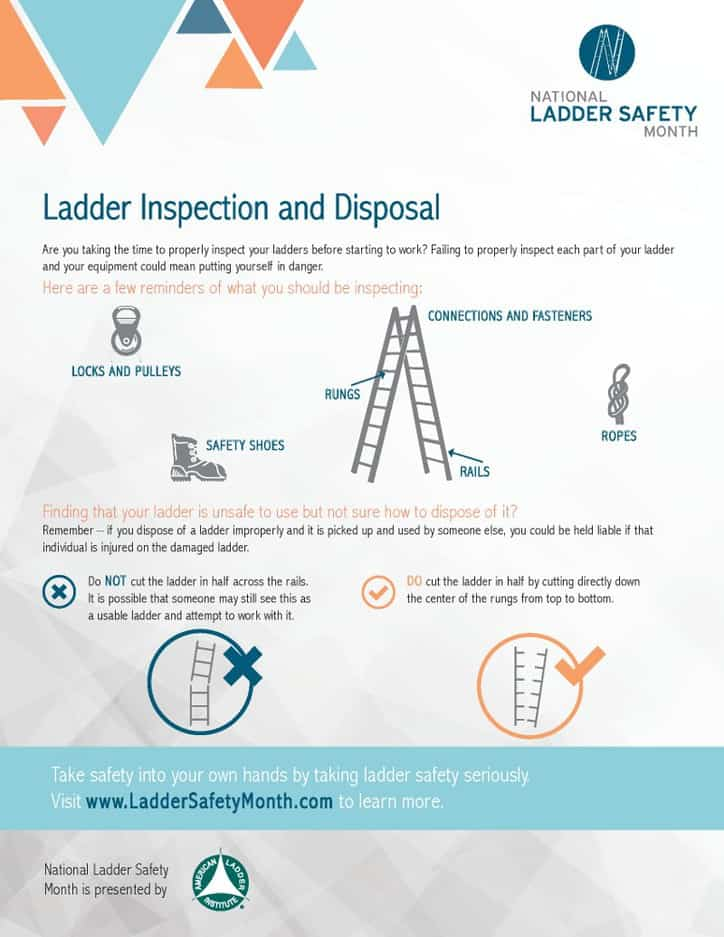 Proper Ladder Disposal