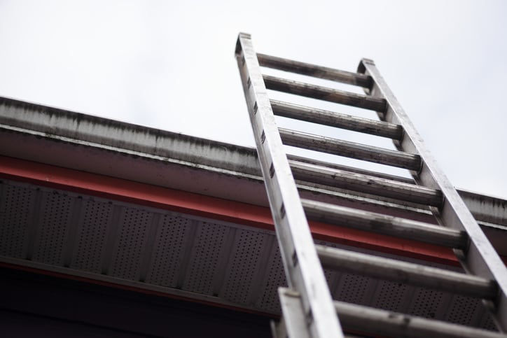 Home ladders need to be used safely, since it can be just as dangerous than at work.