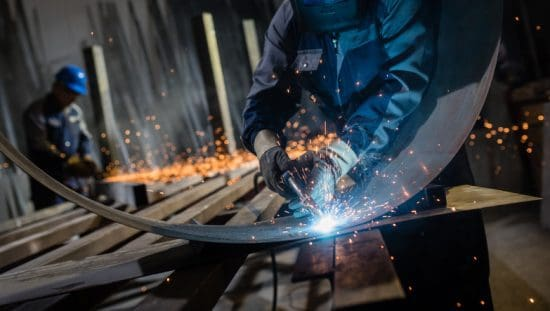 Welding on curved sheet metal with AWS D9.1-2018 code