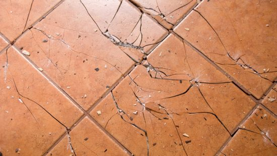 ASTM Impact Damage Break Ceramic Tile