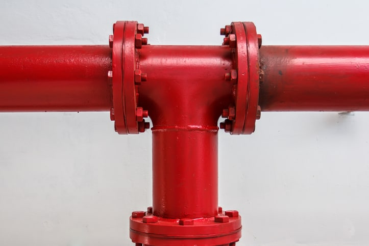 Red flanges as ANSI Class Flanges in ASME B16.5-2020.