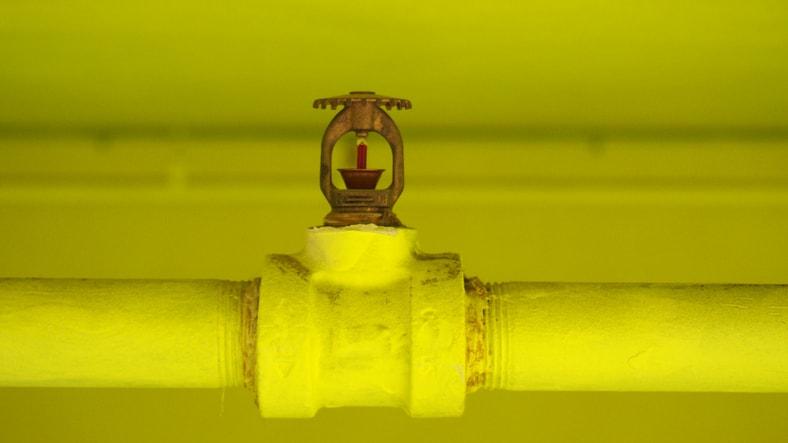 Sprinkler system installed to NFPA 13-2019