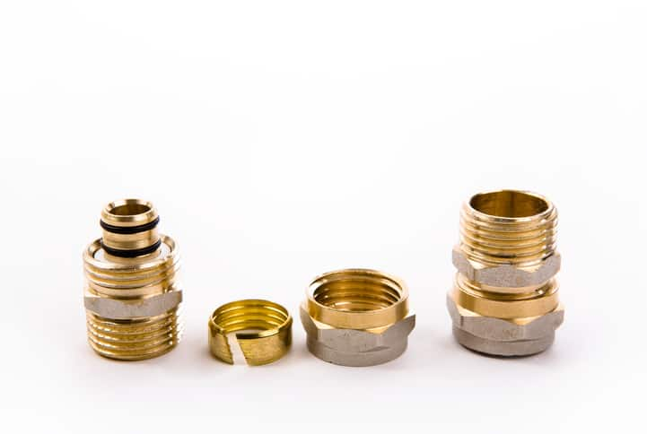 Different bronze valves and fittings marked to ANSI/MSS SP-25-2018