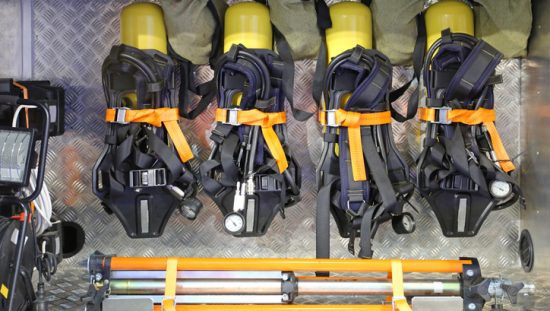 Respirators for firefighters that follow NFPA 1989-2019