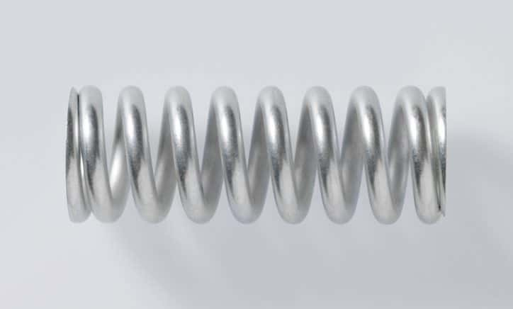 A stainless steel spring wire specified to ASTM A313-18