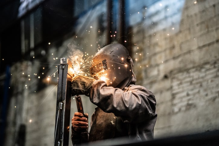 Welding right near the eyes but preventing fires with NFPA 51B-2019