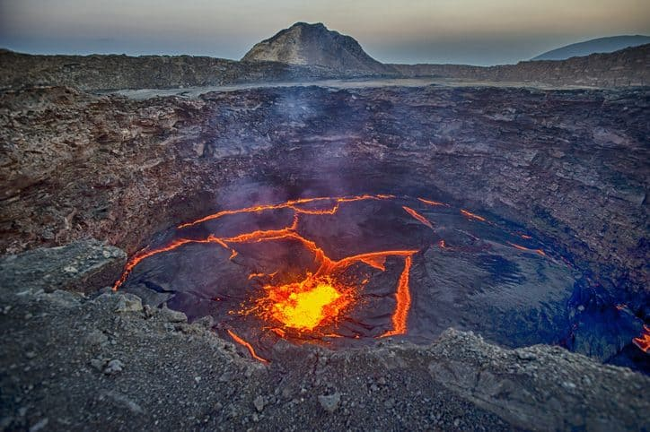 Volcano Climate Change Ethiopia