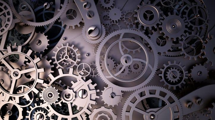 Gears with tolerances that are within ANSI/AGMA ISO 17485-A08 requirements