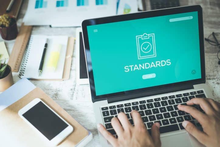 Person who wants to be involved in standards development will first check a list of ANSI standard developers