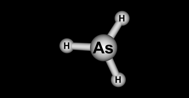 Arsine molecule, which is covered by CGA G-16-2018