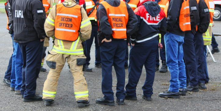 A team trained in a variety of emergency response tactics according to ANSI standards