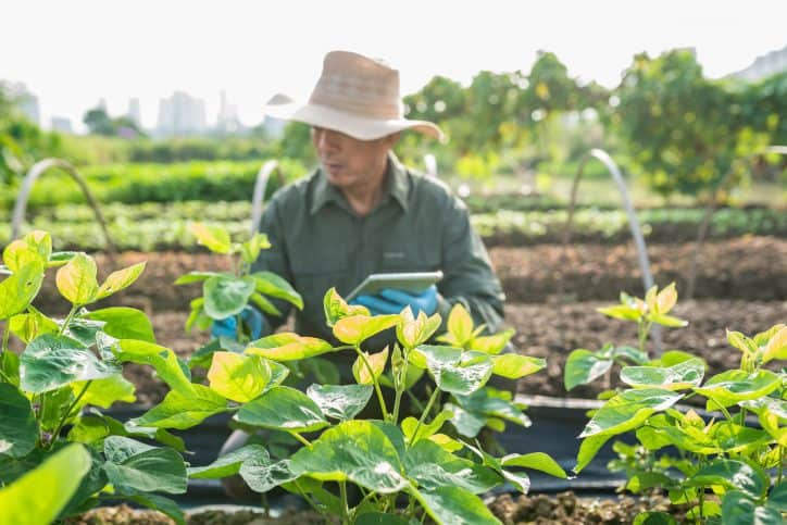 Farmer working in accordance with ISO/IEC 18025:2014