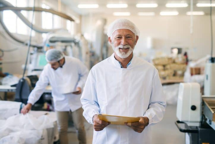 Food handler in California that meets requirements in ASTM International E2659-18 standard