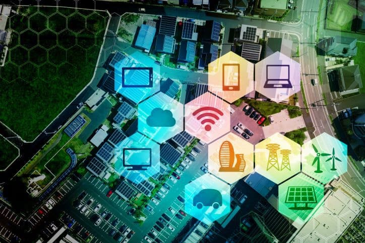 Many systems are involved with a smart grid to generate power efficiently