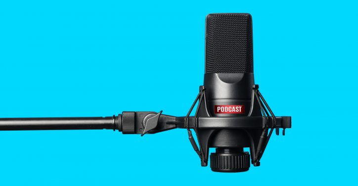 Microphone used to record podcasts like the NEMAcast