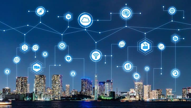 Future smart cities will have an integrated smart grid that connects to all devices