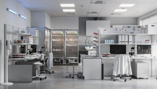 Wide lab empty but well described with a flexible scope of accreditation.